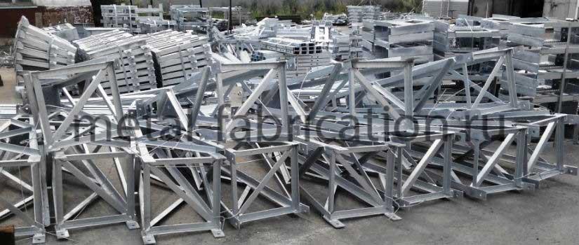 Описание производства металлоконструкций